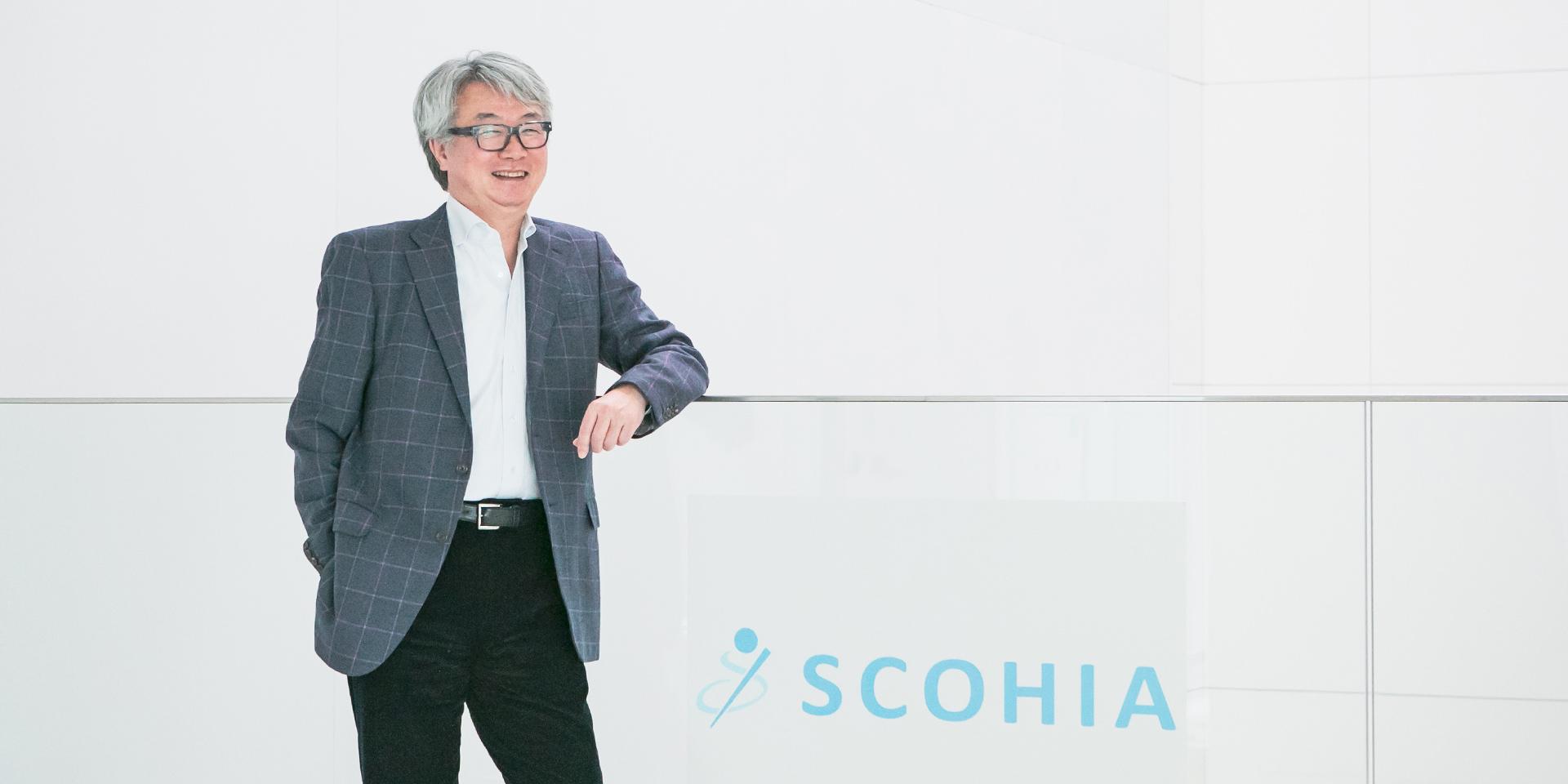 代表取締役社長 奥村 洋一の写真